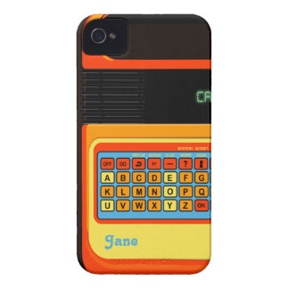 Retro video game motif vintage for iPhone 4 Case