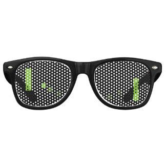 Retro Video Game Wayfarer Sunglasses