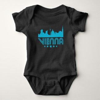 Retro Vienna Skyline Baby Bodysuit