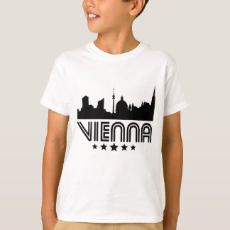 Retro Vienna Skyline T-Shirt