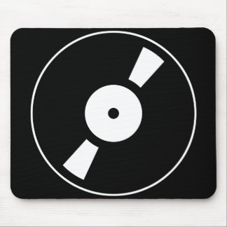 retro vinly record mouse pad
