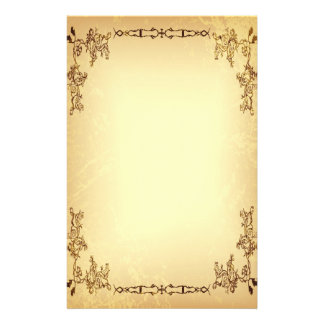 Retro Vintage Aged Paper Stationery Paper