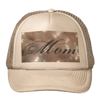 Retro Vintage Antique Pearls Elegant Mom Trucker Hats