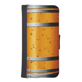 Retro Vintage Beer Barrel iPhone SE/5/5s Wallet Case