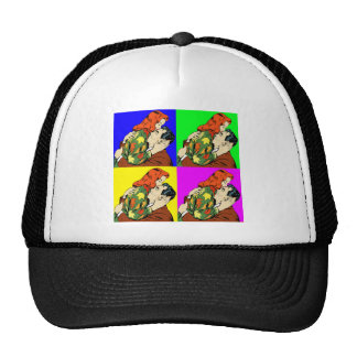 retro vintage comic cap