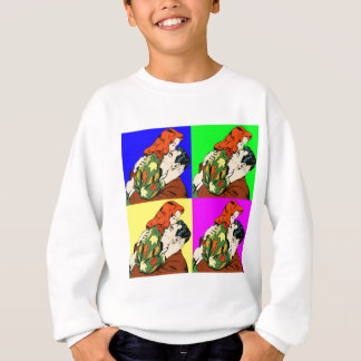 retro vintage comic sweatshirt