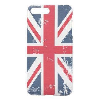 Retro Vintage Distressed Grunge UK Flag Union Jack iPhone 7 Plus Case