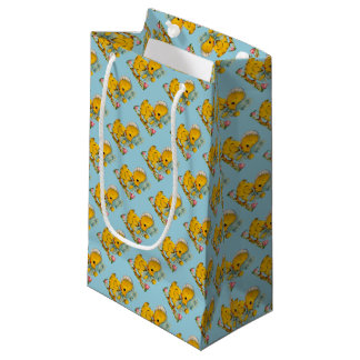 Retro/Vintage Easter Chicks Small Gift Bag