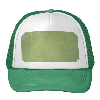Retro Vintage Elegant Green Solid Color Pattern Mesh Hats