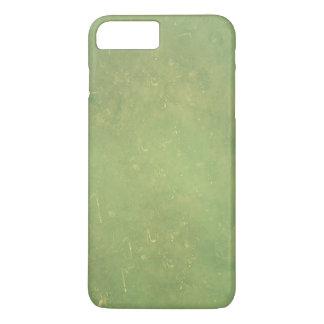 Retro Vintage Elegant Green Solid Color Pattern iPhone 7 Plus Case