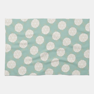 Retro Vintage Geometric Pattern - Personalize Tea Towel