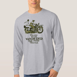 Retro vintage German 1929 Wanderer Motorcycle ad T-Shirt