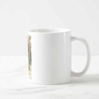 Retro Vintage German Soldier Christmas Coffee Mug