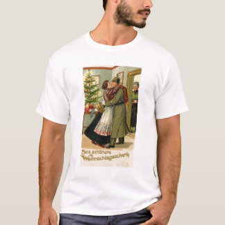 Retro Vintage German Soldier Christmas T-Shirt