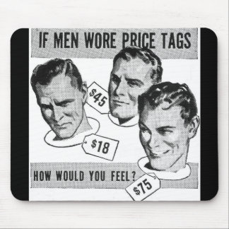 Retro Vintage Humours AD Mouse Pad