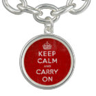 Retro Vintage Keep Calm and Carry On