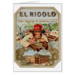 Retro Vintage Kitsch 30s Cigar El Ricolo Chimp Cards