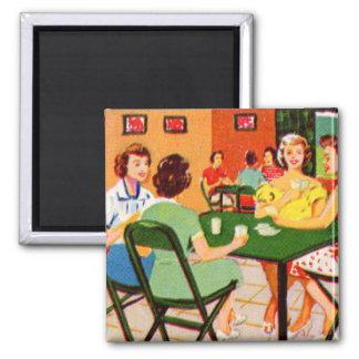 Retro Vintage Kitsch 60s Resort Ad Brochure Cards Magnet