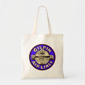 Retro Vintage Kitsch Airplanes Gilpin Airlines Bags