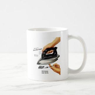 Retro Vintage Kitsch Appliance Electric Iron Coffee Mug