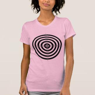Retro Vintage Kitsch Bullesye Archery Target T-Shirt