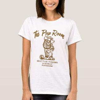 Retro Vintage Kitsch Diner 'The Pup Room' T-Shirt