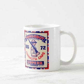 Retro Vintage Kitsch Doughboy Mammoth Caps Coffee Mugs