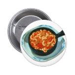 Retro Vintage Kitsch Food Spaghetti Hot Dish 6 Cm Round Badge