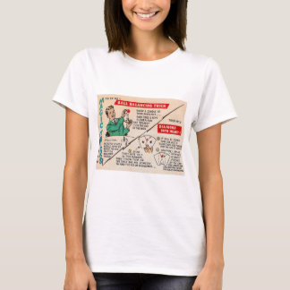 Retro Vintage Kitsch Magic 'Magic Tricks Ad' T-Shirt
