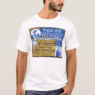 Retro Vintage Kitsch Matchbook Chinese Restaurant T-Shirt