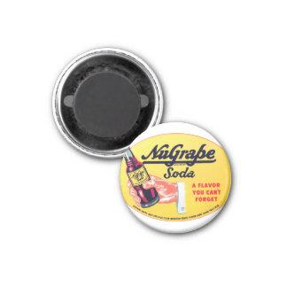 Retro Vintage Kitsch NuGrape Grape Soda Pop Sign Refrigerator Magnets