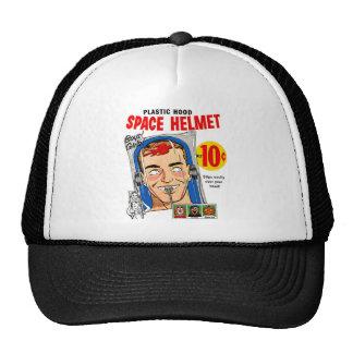 Retro Vintage Kitsch Plastic Hood Space Mask Toy Trucker Hat