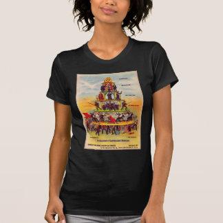 Retro Vintage Kitsch Politics Capitalism Postcard T Shirts