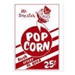 Retro Vintage Kitsch Popcorn Mr. Dee-lish