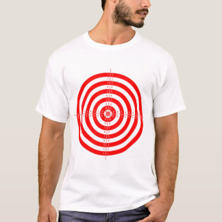 Retro Vintage Kitsch Red Archery Target Bullseye T-Shirt