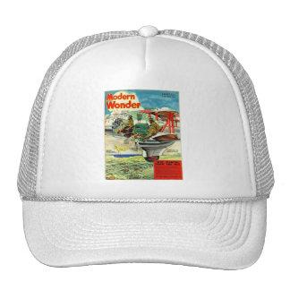 Retro Vintage Kitsch Sci Fi 30s Modern Wonder Hat