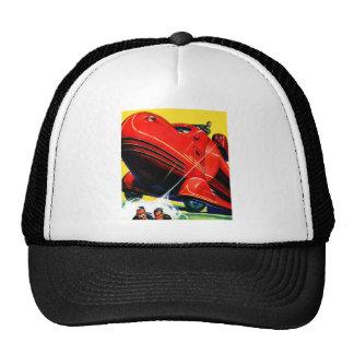 Retro Vintage Kitsch Sci Fi 30s Riot Control Trucker Hat