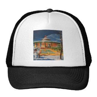 Retro Vintage Kitsch Sci Fi 60s Future Home Trucker Hat