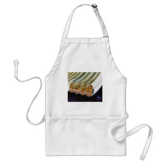 Retro Vintage Kitsch Sci Fi Future Space Colonies Apron