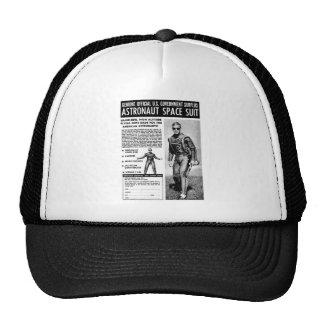Retro Vintage Kitsch Sci Fi Own a Astronaut Suit Trucker Hat