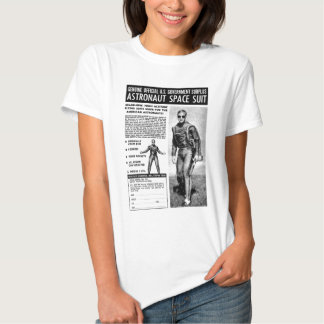 Retro Vintage Kitsch Sci Fi Own a Astronaut Suit T-Shirt