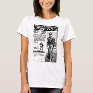 Retro Vintage Kitsch Sci Fi Own a Astronaut Suit T-Shirt