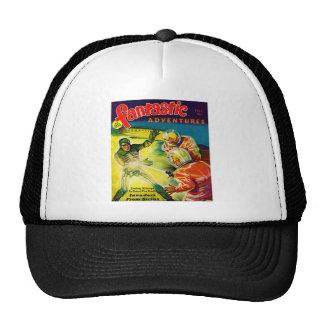 Retro Vintage Kitsch Sci Fi Pulp Fantastic Mag Trucker Hat