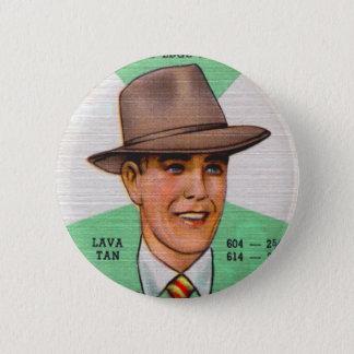 Retro Vintage Kitsch Swann Mens Hats Fedora 6 Cm Round Badge