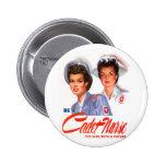 Retro Vintage Kitsch WW2 Cadet Nurse 6 Cm Round Badge