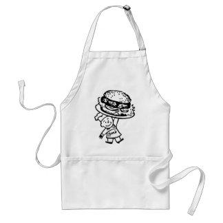 Retro Vintage Kitsch Zim's Hamburgers Standard Apron