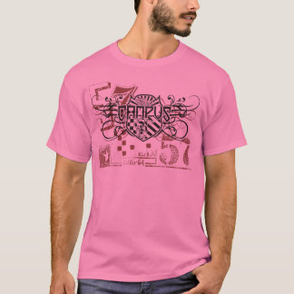 retro vintage look campus tshirt