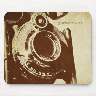 Retro Vintage Photography Mouse Pad