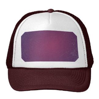 Retro Vintage Purple Plum Elegant Solid Color Mesh Hat