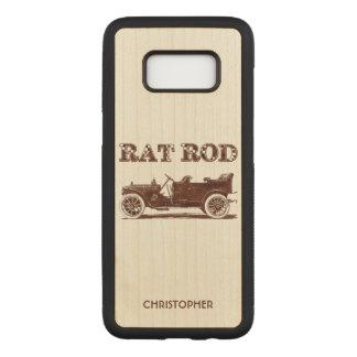 Retro Vintage Rat Rod Old School Cool Rusty Car Carved Samsung Galaxy S8 Case